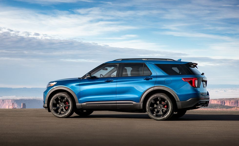 See Detailed 2020 Ford Explorer ST Photos Ford explorer