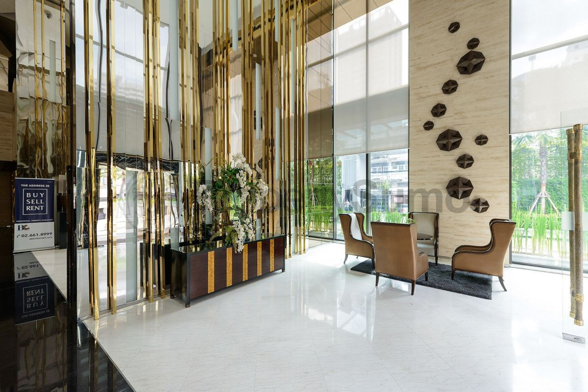 The Address Sukhumvit 28 Bangkok Office Interiors Hotel Lobby Interior