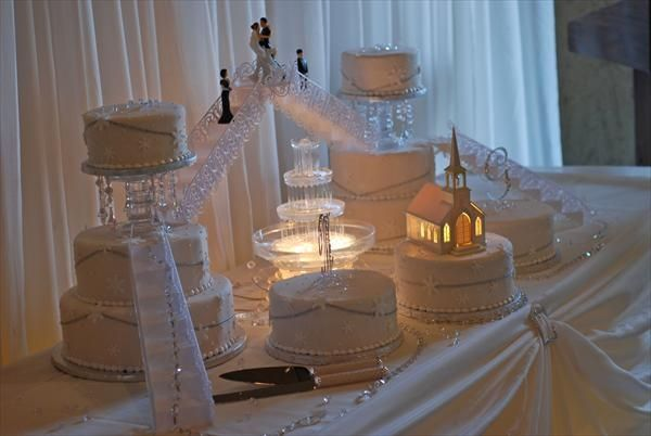 Bridge Wedding Cakes With Fountains Bing Images Kayla Wedding