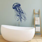tiny Bathroom Decor Jellyfish Wall Decal Sticker - Sea Life Wall Decals Jelly Fish Ocean Sea Animals Bathroom Home Decor This image has get 0 repins. Author: Downtownbucky #Animals #bathroom #Decal #Decals #decor #Fish #home #Jelly #Jellyfish #Life #ocean #Sea #Sticker #Wall