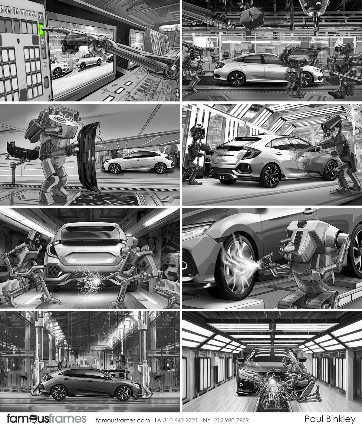Honda - Paul Binkley - See famous work from Famous Frames | Shooting ...