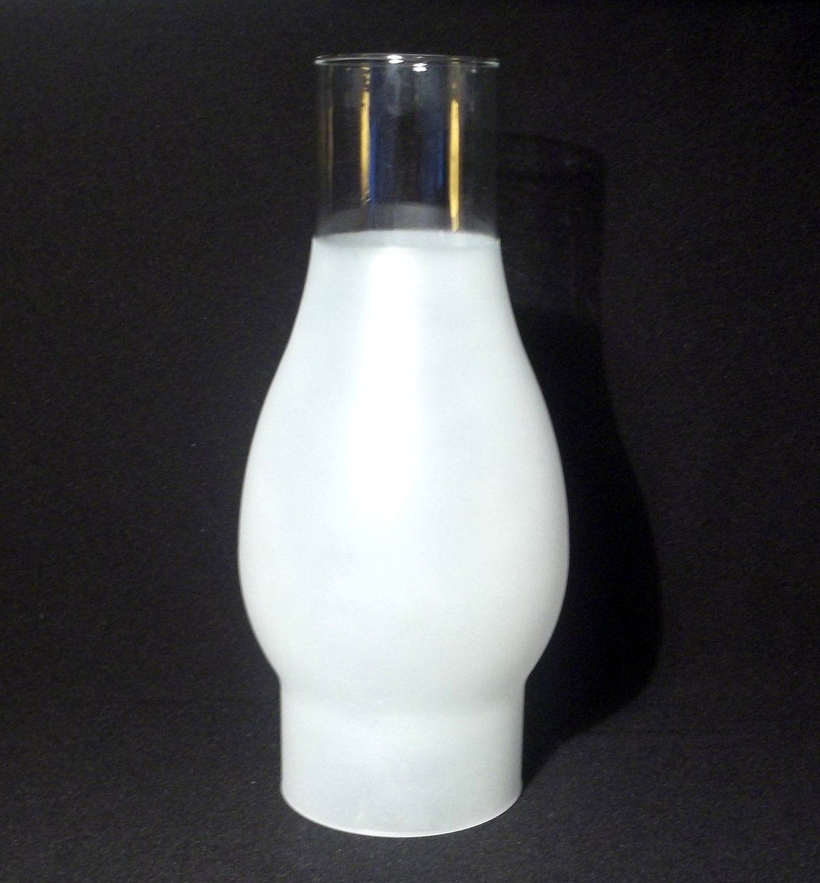 Hurricane lamp shade 34 frosted 2 58 inch fitter x 7 78 oos hurricane lamp shade 34 frosted 7 78 with 2 58 inch fitter hand blown glass replacement shade for your sconce lamp oil or electric or candle holder aloadofball Images