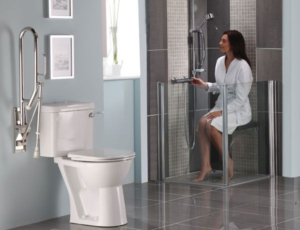 Disability Bathrooms Disability Meets Design Pinterest - Bathroom help for disabled for bathroom decor ideas