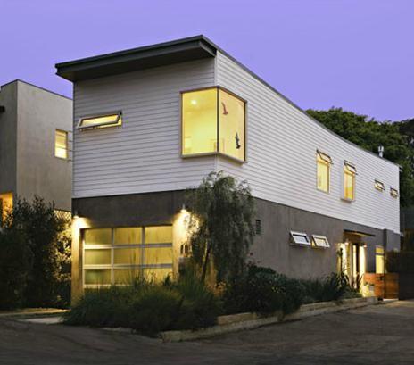 Narrow Lot Prefab House Santa Monica CA Eco Homes Pinterest - Narrow lot homes