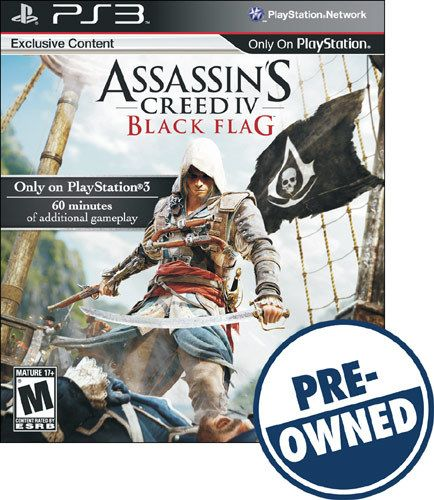 Assassin S Creed Iv Black Flag Pre Owned Playstation 3 Pre