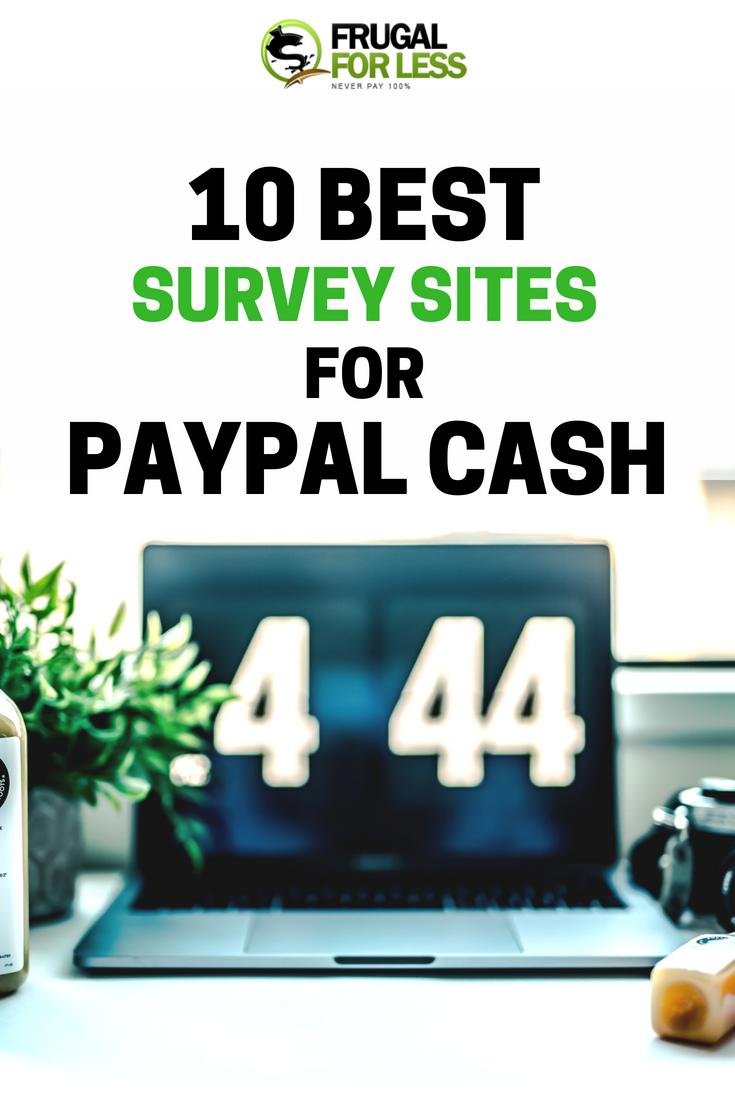 10 Best Survey Sites For Paypal Money Online Surveys For Money