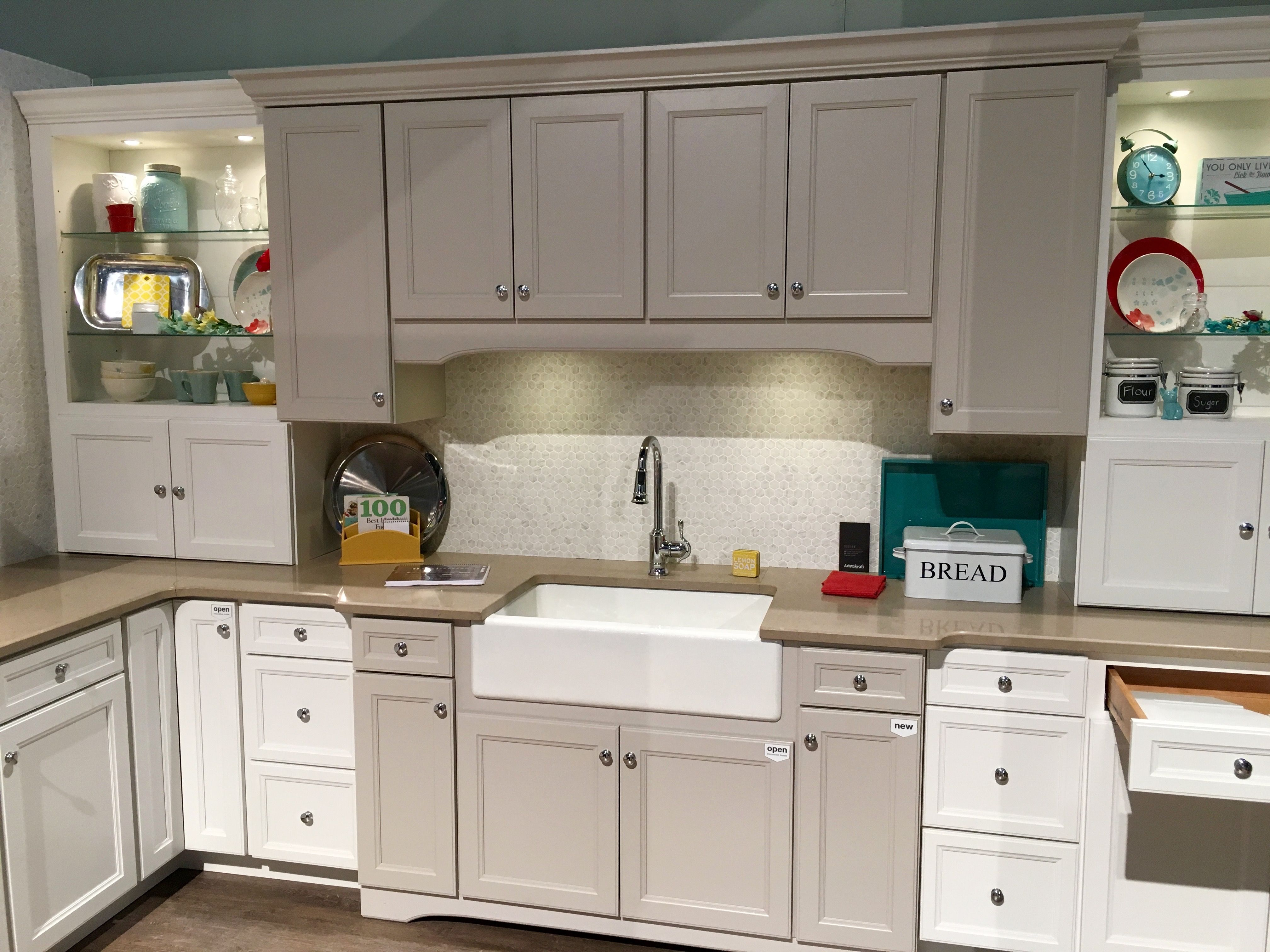 The Latest Kitchen Trends We Have Seen In 2016 Is Combining Cabinet Colors Learn