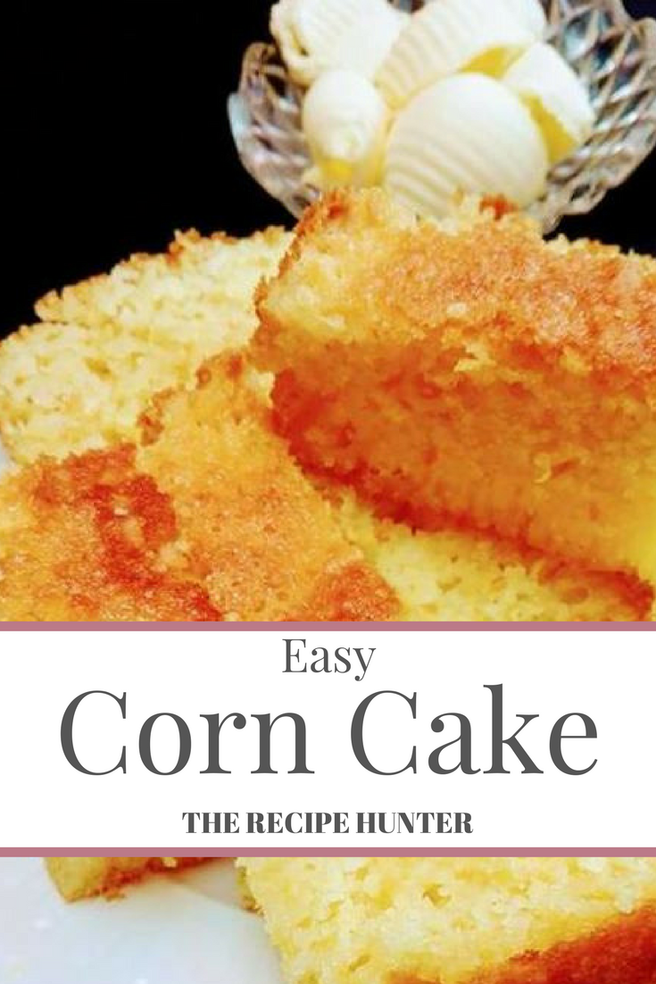 Easy homemade corn cakes