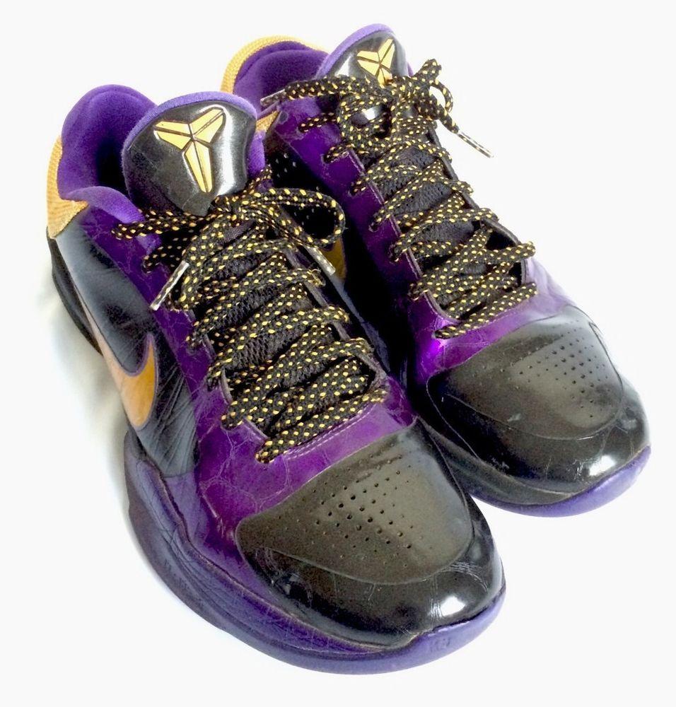 Nike Kobe Bryant Sneakers 8 Purple Gold