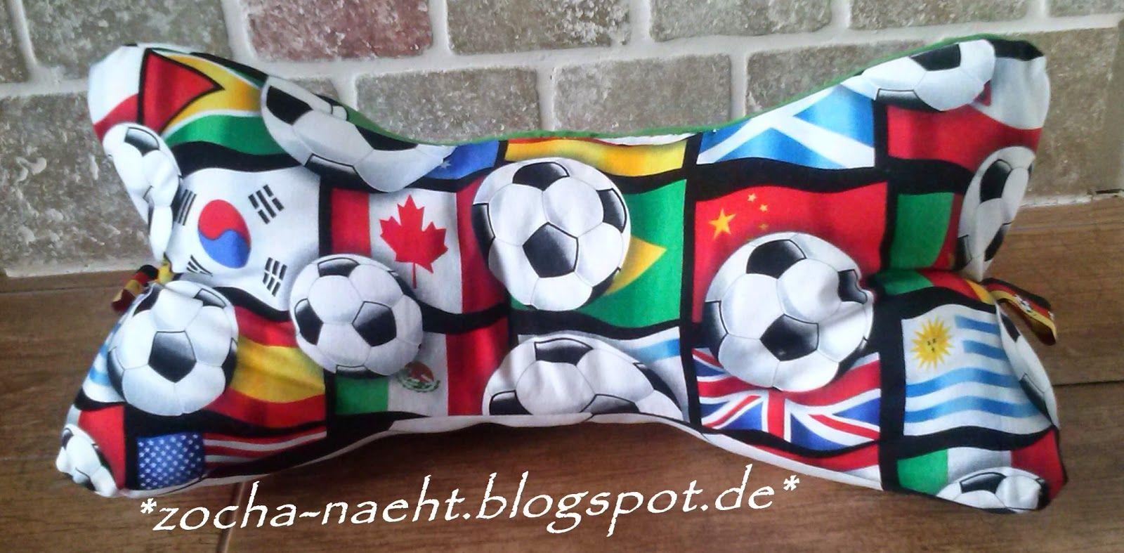 zocha näht: Fußball-Leseknochen