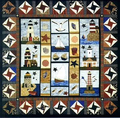 beach quilt kits | Back to the Beach with Watercolor Quilt Kits by ... : nautical quilts patterns - Adamdwight.com