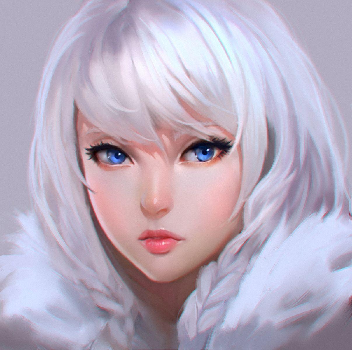 White by on DeviantArt Art