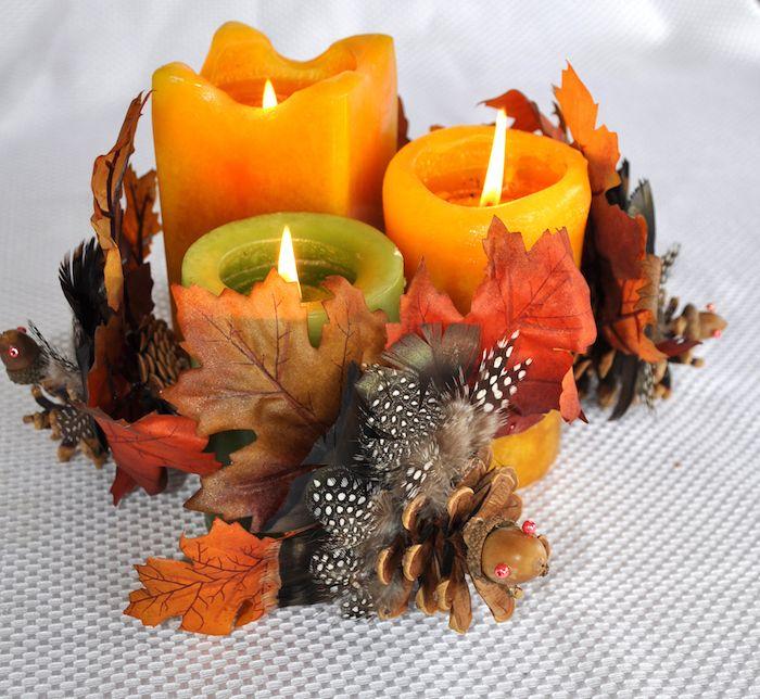 ▷ 1001 + tutos et idées de bricolage automne pour petits et