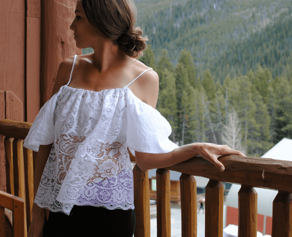 Vergiss die teure Damenkleider Abteilungen und erneue deine Kleider selbst - DIY Ethnische Bluse