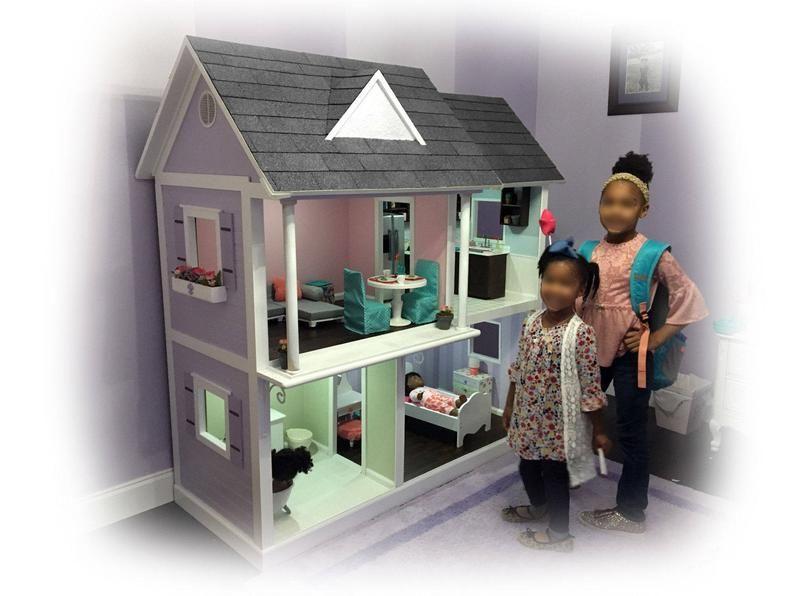 Dollhouse Plans for American Girl, Journey Girl an