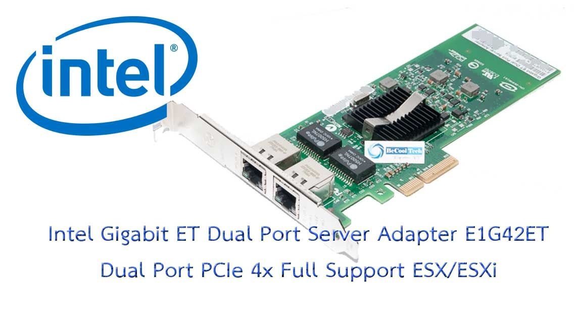 INTEL E1G42ET PRO//1000 ET Dual Port Server Adaptor