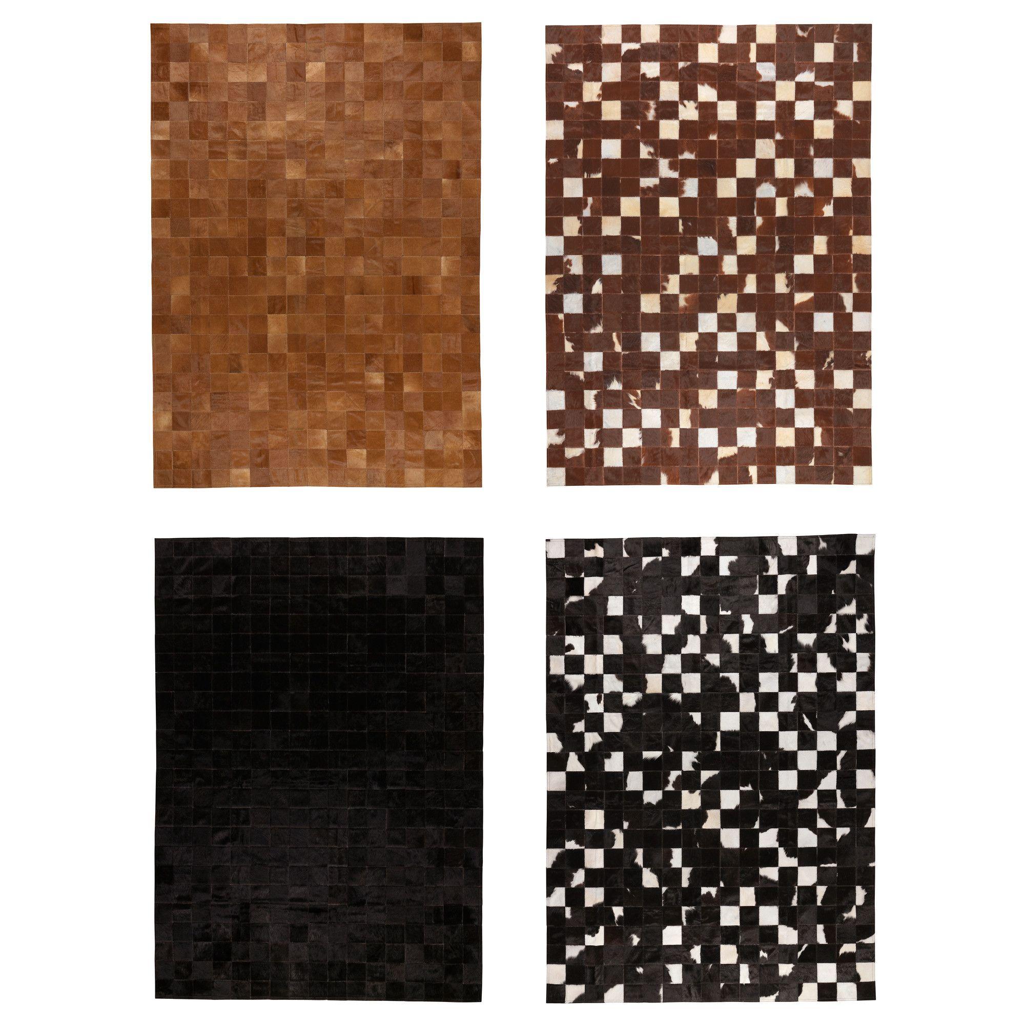 ikea has patchwork hide rugs hadsten cowhide ikea. Black Bedroom Furniture Sets. Home Design Ideas