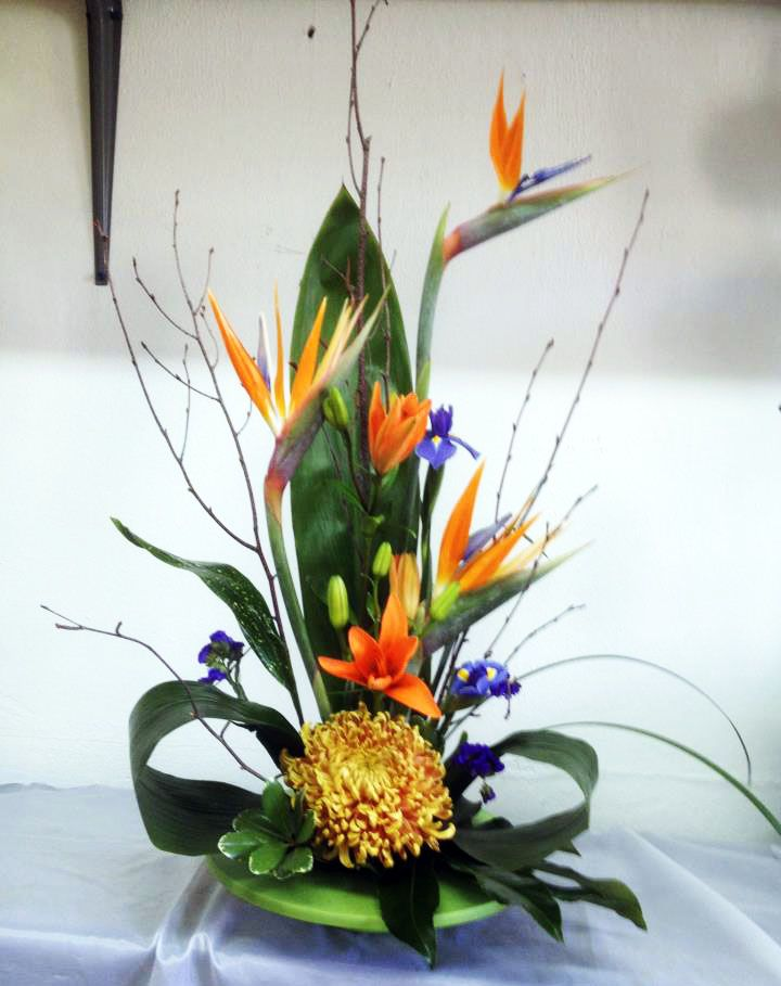 Bird of paradise wedding decorations