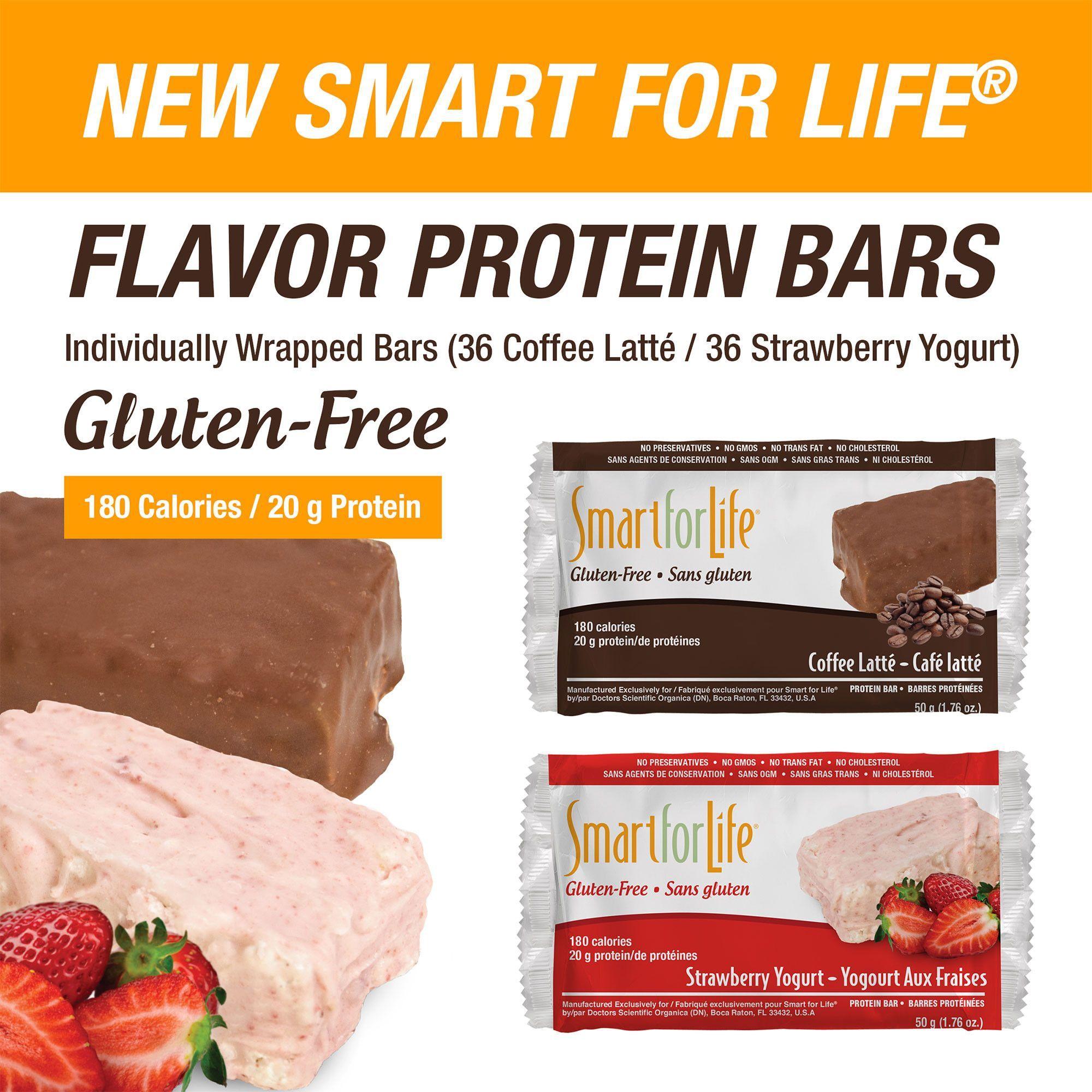 Smart For Life Strawberry Yogurt & Coffee Latte Gluten