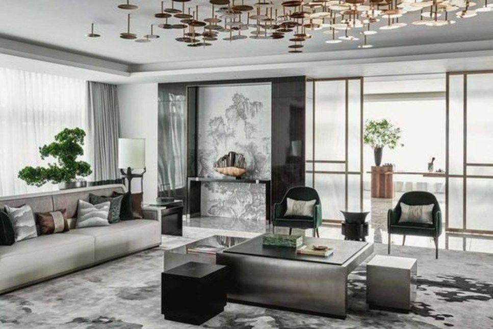 Cozy And Elegant Chinese Living Room Decoration Ideas 07 Trendehouse Chinese Living Room Living Room Designs Oriental Interior