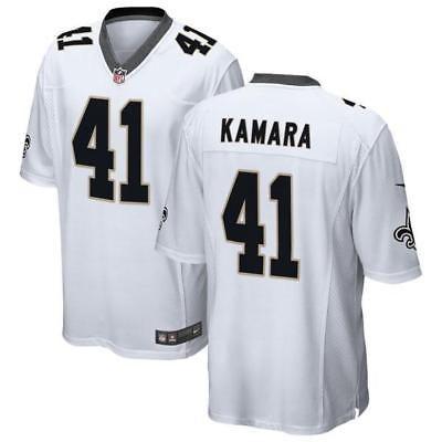 74ea59744 Men 159109  Alvin Kamara Men White Jersey -  BUY IT NOW ONLY   35.8 ...