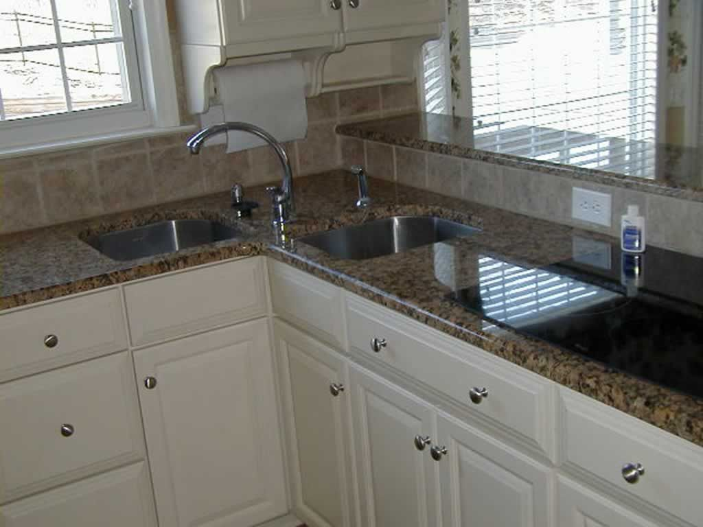 Interesting Corner Sink Idea We Chose For The Kitchen Shows So