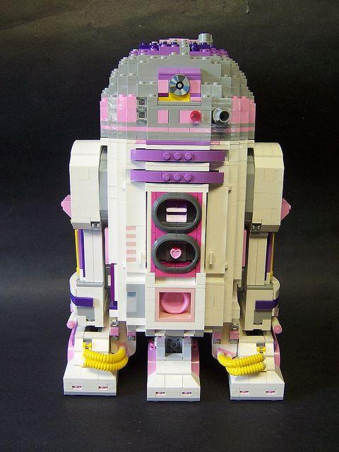 Cutey Pie R2 Unit by monsterbrick, via Flickr