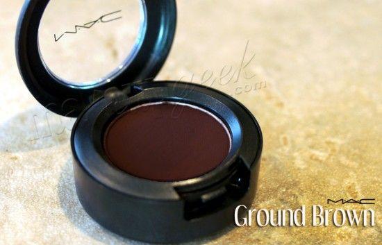 MAC Ground Brown