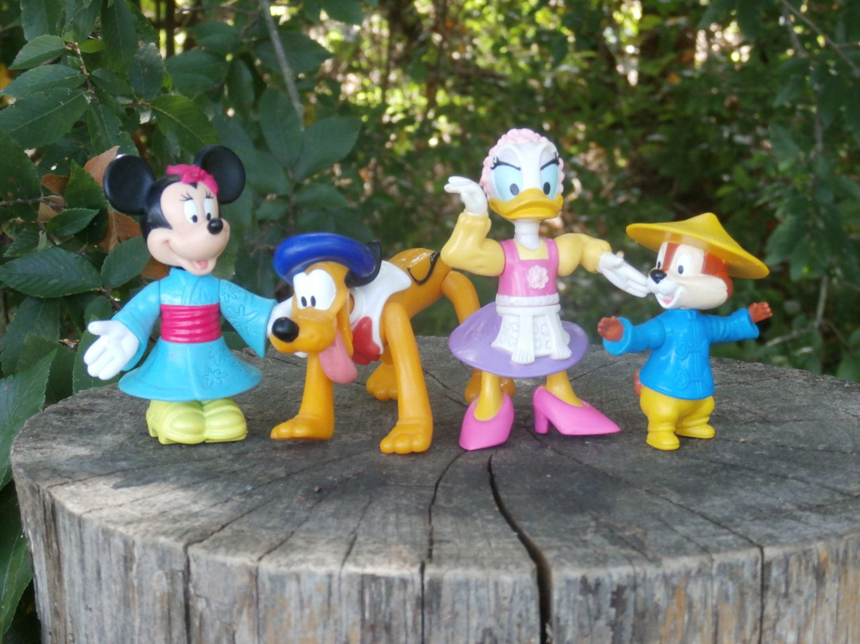 4 Disney Epcot Center Mcdonalds Happy Meal Toys Germany