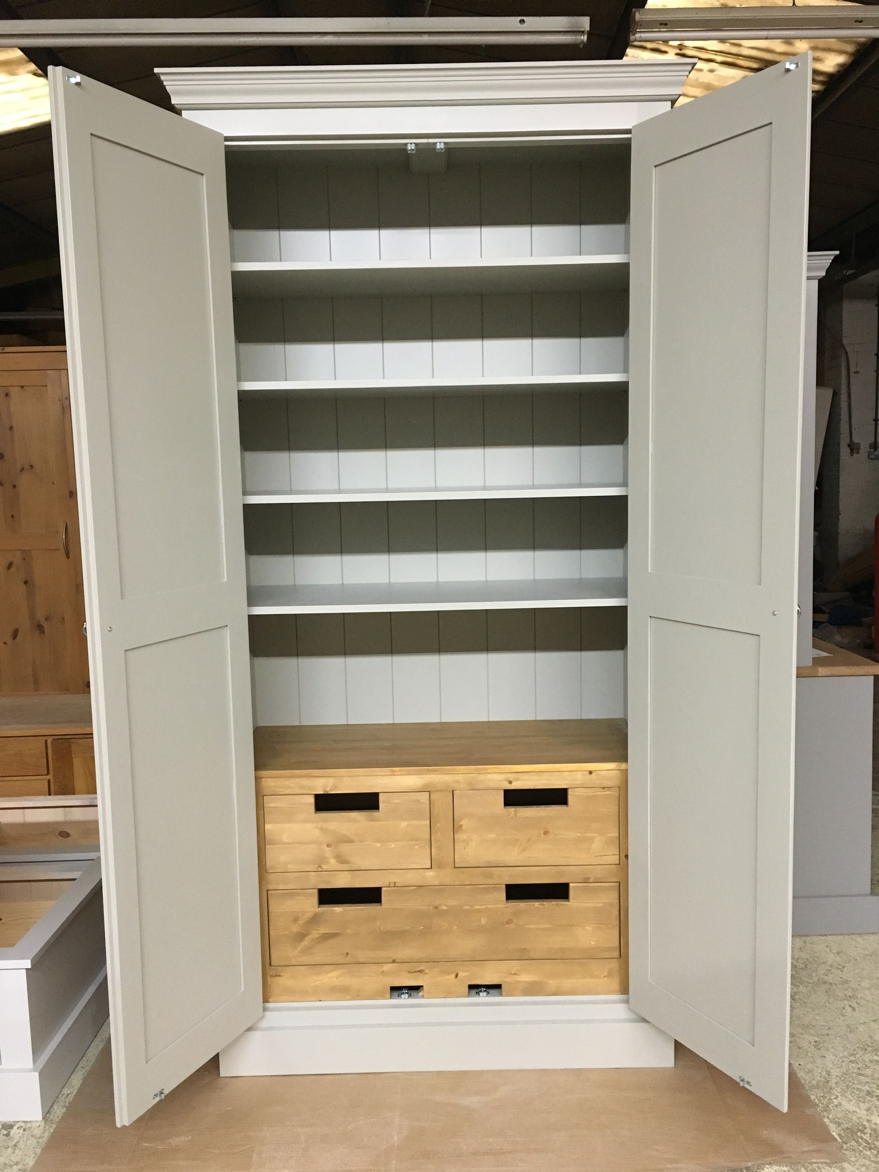 Best This Storage Cupboard With Pine Internal Drawers Is Great 640 x 480