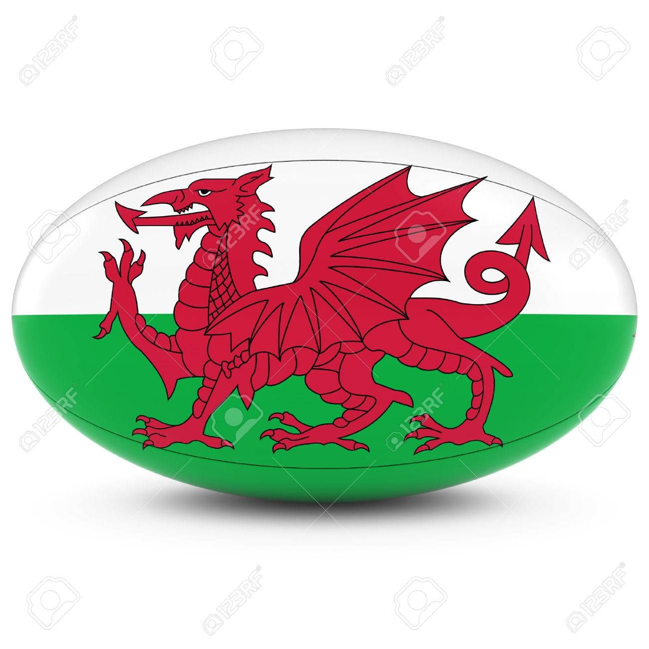 Wales Rugby Welsh Flag On Rugby Ball On White Affiliate Welsh Rugby Wales White Ball Welsh Flag Wales Rugby Rugby Ball