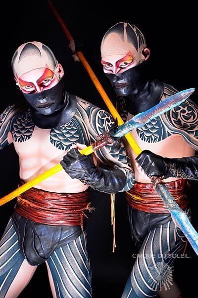 The Characters O Cirque Du Soleil Cirque Du Soleil Cirque Circus Performers