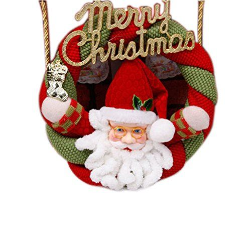Christmas Wreaths Christmas Decorations Santa Claus *** Want to know more, click on the image.