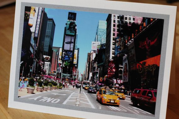 @Kim McIlrath made this card.  love it!  Times Square Card on Etsy