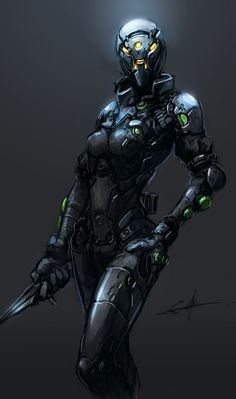 sexy anime space suit - photo #36