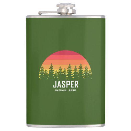 Jasper National Park Flask