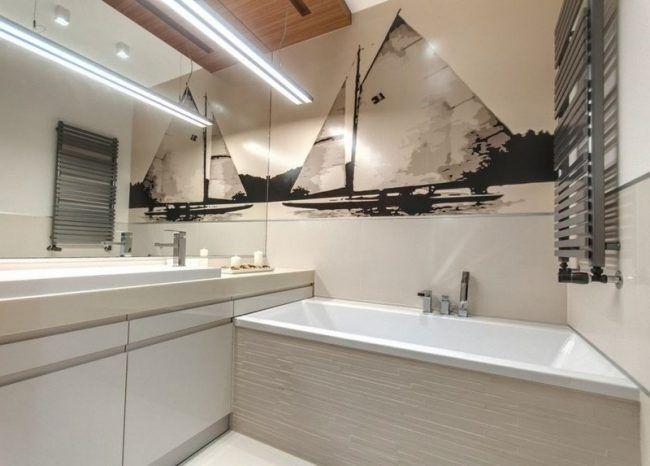 Perfekt Badezimmer Ideen Kleine Baeder Modern Groesser Wirken Boot