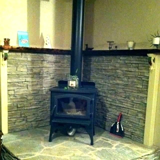 Image Result For Decorating A Small Living Room With A Corner Woodstove Wood Stove Surround Wood Burning Stove