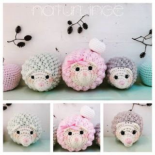 ༺༺༺♥Elles♥Heart♥Loves♥༺༺༺ ........♥Crochet Amigurumi♥........ #Amigurumi #Patterns #Crochet #Softies #Childrens #Toys #Handmade #Teddy #Doll #Tutorial #Patterns #Collectable~ ♥Design By Nature Linge Amigurumi Little Lamb