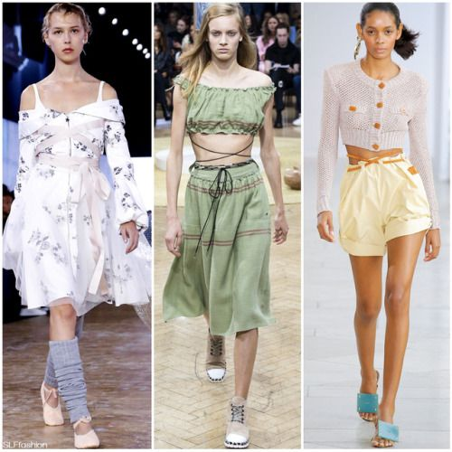 Fashion style Lacing: crisscross the new spring fashion trend for lady