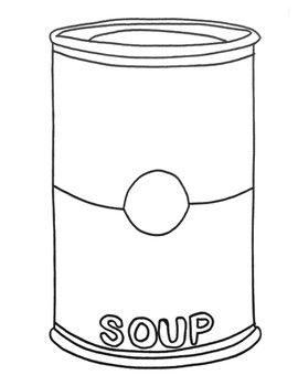 Andy Warhol Campbell S Soup Can Pop Art Lesson Andy Warhol Pop Art Pop Art Food Pop Art