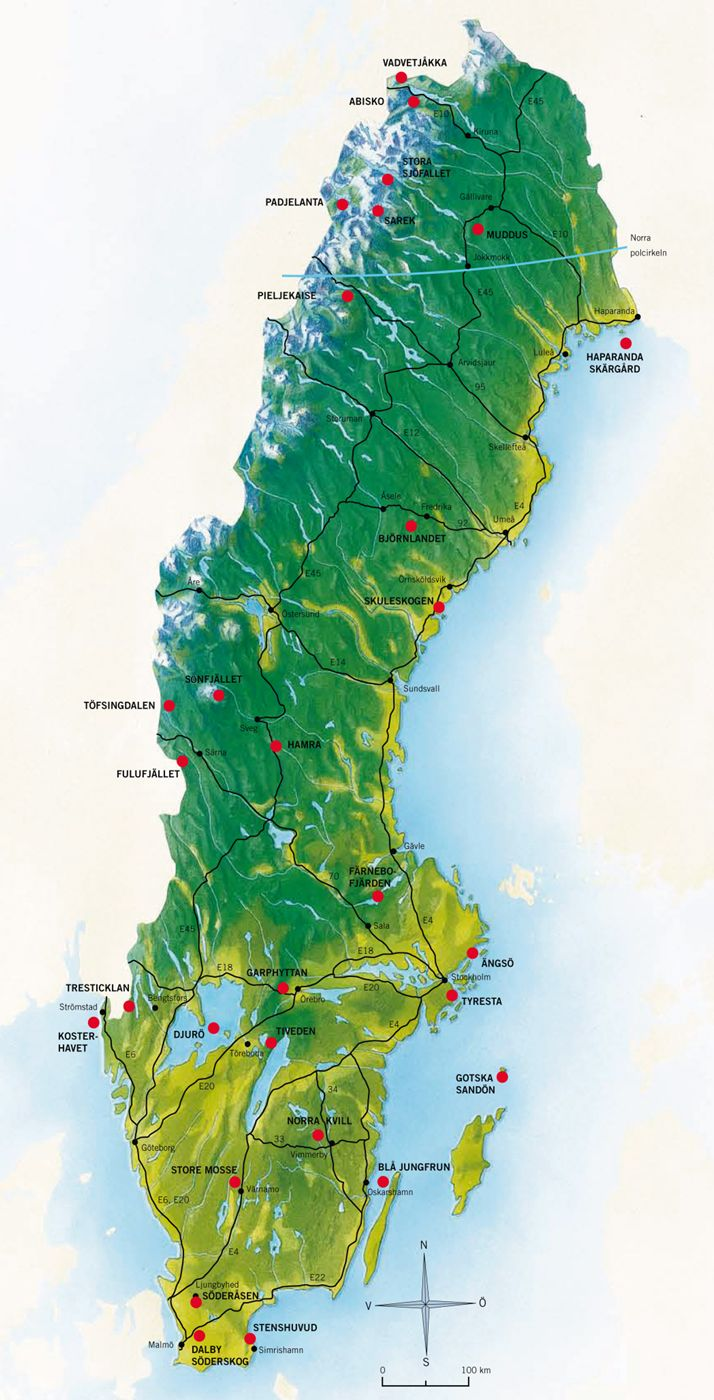 National Parks in Sweden - Swedish Environmental Protection Agency