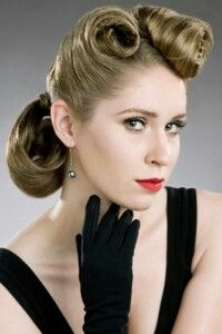 1950s Hairstyles In The Were More About Soft Curls And Ranged From