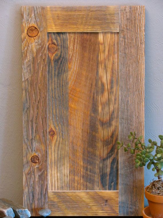 Cabinet Door Reclaimed Wood Flat Panel Reclaimed Wood Wood