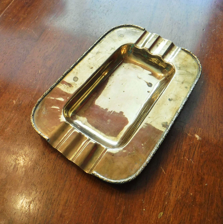 Brass ashtray vintage brass ashtray brass trinket dish brass brass ashtray vintage brass ashtray brass trinket dish brass catch all tray amipublicfo Gallery