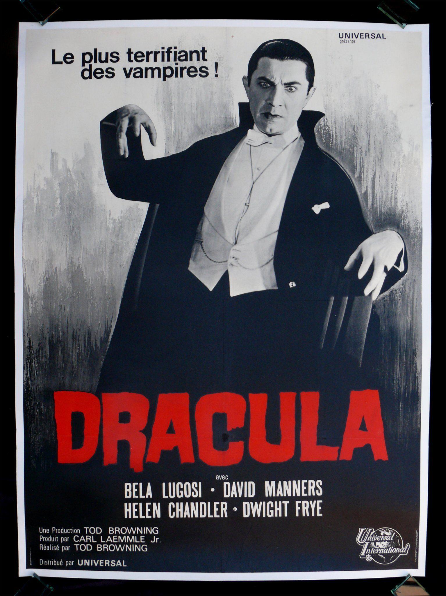 31 FLAVORS OF HORROR #3: DRACULA (1931). | Dracula, Horror ...