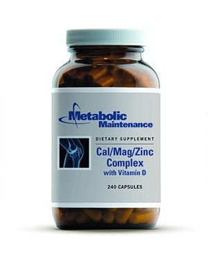 Metabolic Maintenance Cal/Mag/Zinc Complex with Vitamin D, 240