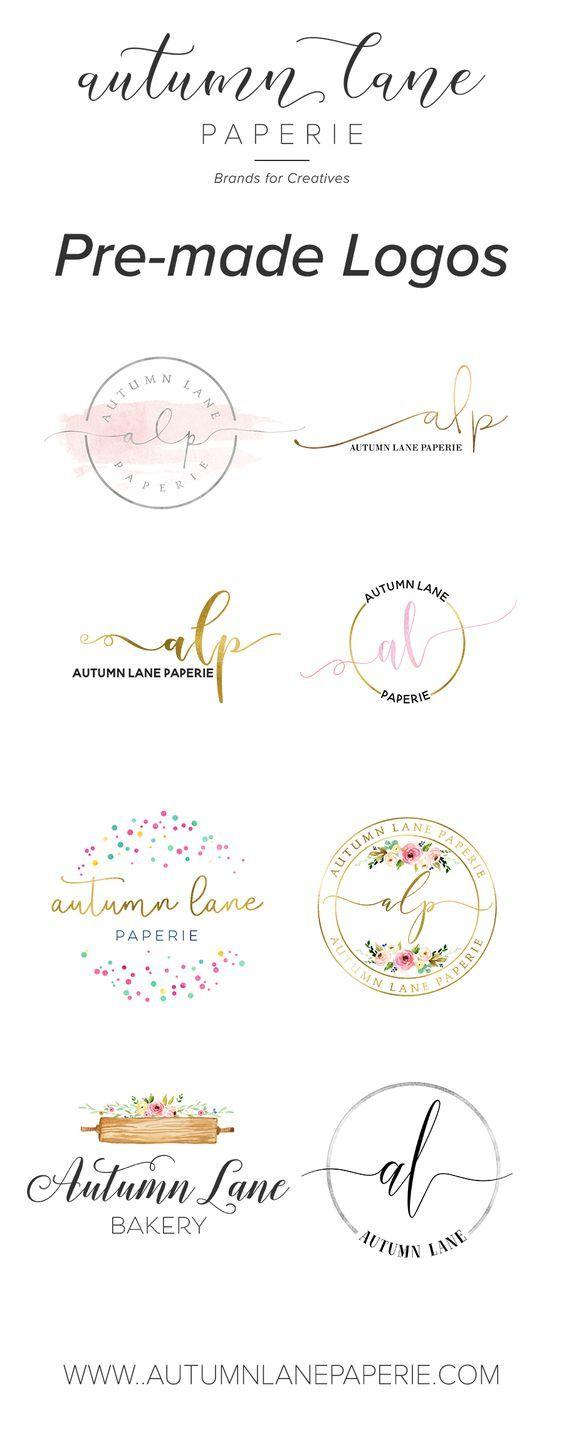 Premade Logos by Autumn Lane Paperie | 1k+ Designs