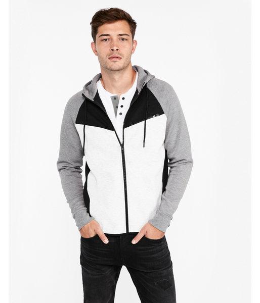 5c14e85ef00f Express Color Block Full Zip Hoodie | Products | Full zip hoodie ...