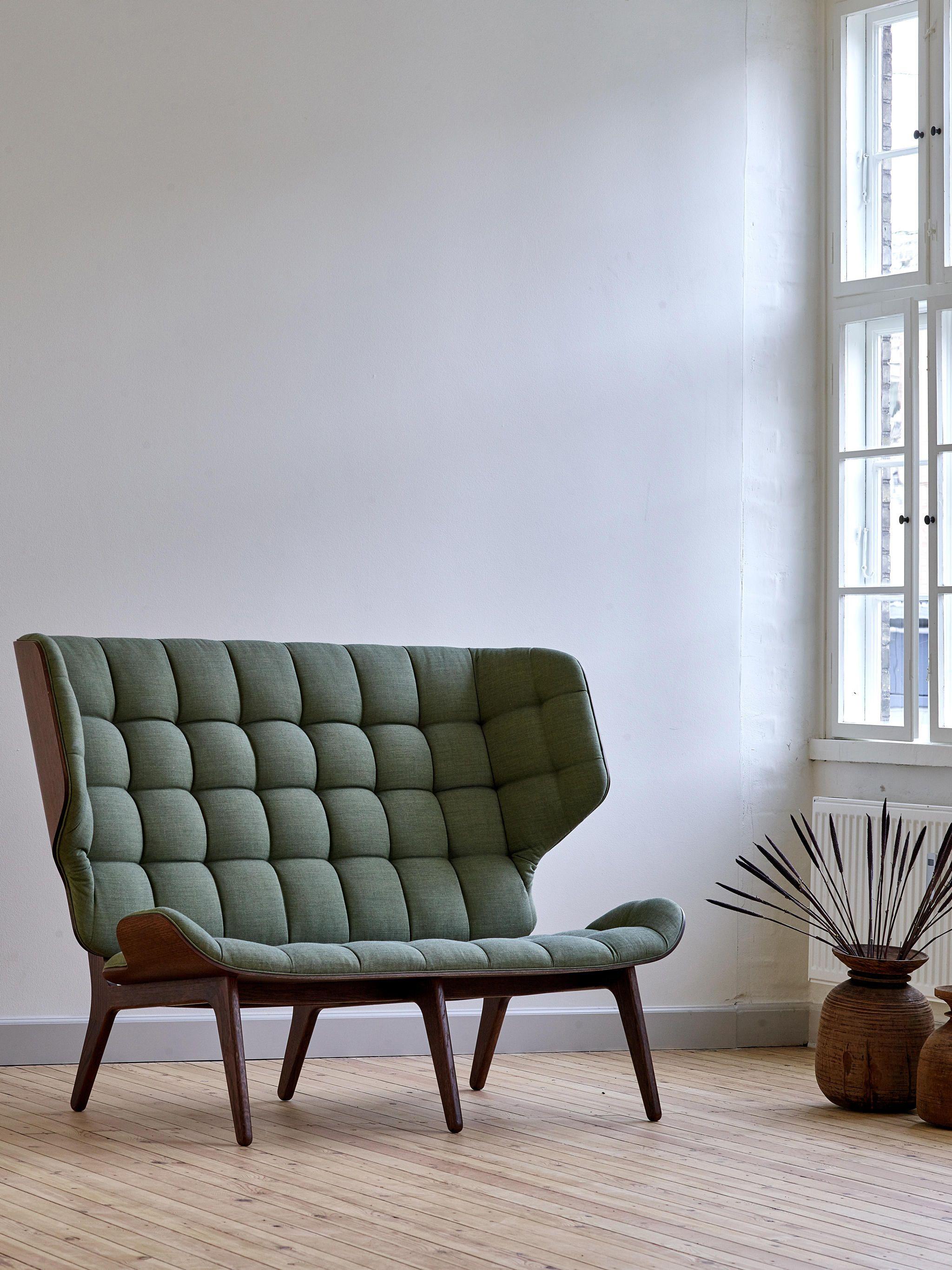 MAMMOTH SOFA, DARK STAINED / KVADRAT : - Designer Lounge sofas from ...